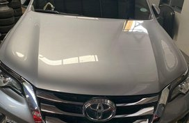 Silver Toyota Fortuner 2018 for sale in Quezon City
