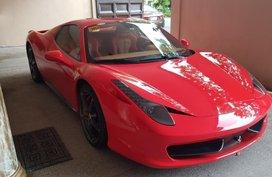 2016 Ferrari 458 for sale in Quezon City