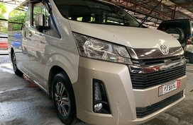 Pearlwhite Toyota Hiace 2019 for sale in Quezon City