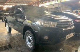 Black Toyota Hilux 2018 for sale in Quezon City