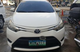 White Toyota Vios 2014 for sale in Manila