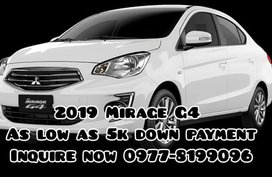 Mitsubishi Mirage G4 2019 as Low as 5K DP