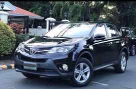 Black Toyota Rav4 2013 for sale in Quezon City