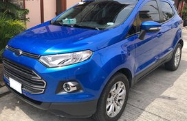 2017 Automatic Ford Ecosport Titanium AT 11T Kms Blue