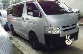 Sell Silver 2019 Toyota Hiace in Quezon City