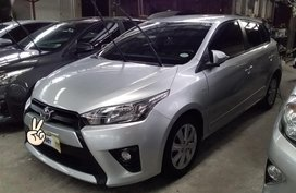Silver Toyota Yaris 2016 for sale in Quezon City