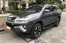 2018 Toyota Fortuner G Automatic
