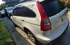 Selling White Honda CRV 2007 in Valenzuela