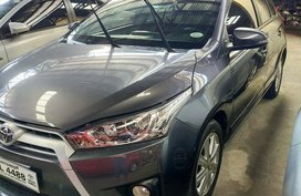 Selling Gray Toyota Yaris 2016 in Quezon City