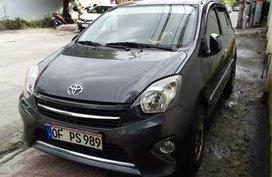 Selling Gray Toyota Wigo 2016 in Quezon City