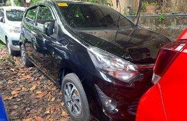 Black Toyota Wigo 2019 for sale in Quezon City