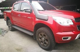 Sell Red 2016 Chevrolet Colorado at 30000 km