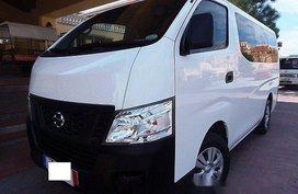 Sell White 2015 Nissan Urvan Manual Diesel at 32000 km