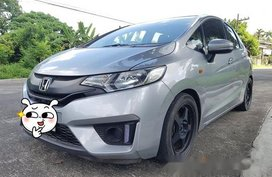 Silver Honda Jazz 2017 for sale in Quezon City