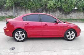 Red Mazda 3 2007 for sale in Cebu
