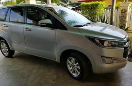 Silver Toyota Innova 2017 Automatic Diesel for sale
