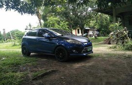 Blue Ford Fiesta 2012 Hatchback for sale