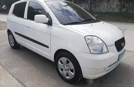 Selling White Kia Picanto 2006 Automatic Gasoline