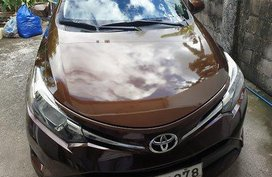 Selling Brown Toyota Vios 2014 at 60800 km