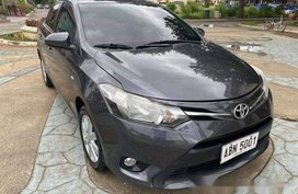 Grey Toyota Vios 2015 for sale in Cebu