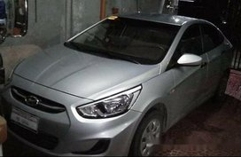 Silver Hyundai Accent 2016 at 21000 for sale