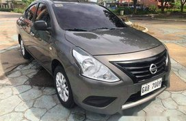 Grey Nissan Almera 2017 for sale in Cebu