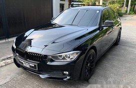 Selling Black Bmw 318D 2016 Automatic Diesel