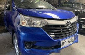 Blue Toyota Avanza 2017 for sale in Quezon City