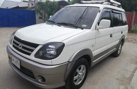 White Mitsubishi Adventure 2016 Manual Diesel for sale
