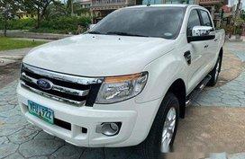 White Ford Ranger 2014 for sale in Cebu