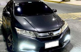 Sell Grey 2014 Honda City at 34000 km
