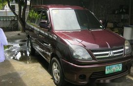 Selling Red Mitsubishi Adventure 2014 in Baliuag