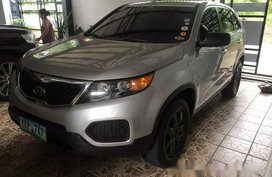 Silver Kia Sorento 2012 Automatic Diesel for sale