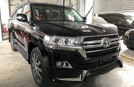 Selling Black Toyota Land Cruiser 2020 in Quezon City