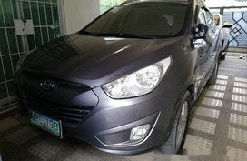 Grey Hyundai Tucson 2012 at 66500 km for sale