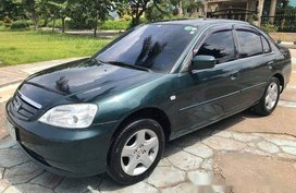 Sell Green 2001 Honda Civic Automatic Gasoline