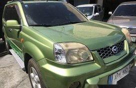 Selling Green Nissan X-Trail 2004 Automatic Gasoline