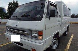 White Mitsubishi L300 2014 for sale in Quezon City