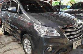Grey Toyota Innova 2015 for sale in Quezon City