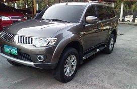Grey Mitsubishi Montero Sport 2013 Manual Diesel for sale