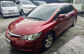 Selling Red Honda Civic 2007 in Quezon City