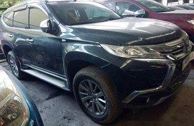 Black Mitsubishi Montero sport 2017 for sale in Quezon City