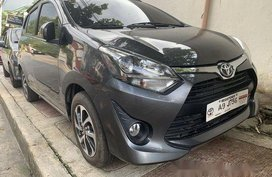 Sell Grey 2019 Toyota Wigo at 2800 km