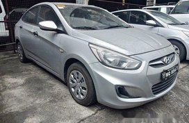 Silver Hyundai Accent 2016 Manual Diesel for sale