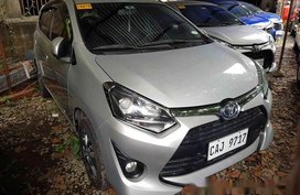 Sell Silver 2018 Toyota Wigo at 24759 km