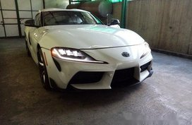 Selling White Toyota Supra 2019 Automatic Gasoline