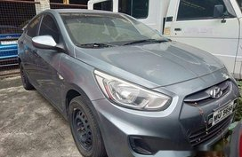 Grey Hyundai Accent 2018 at 20000 km for sale