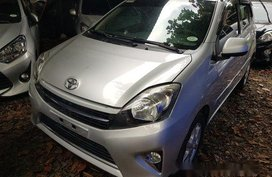 Silver Toyota Wigo 2016 at 9469 km for sale