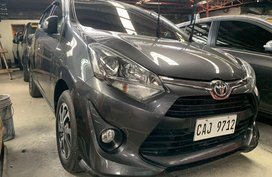 Selling Gray Toyota Wigo 2018 in Quezon City