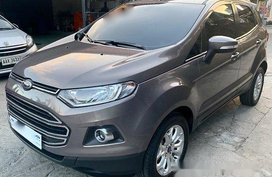 Selling Grey Ford Ecosport 2018 Automatic Gasoline